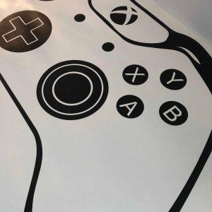jeux videos autocollant mural décoratif